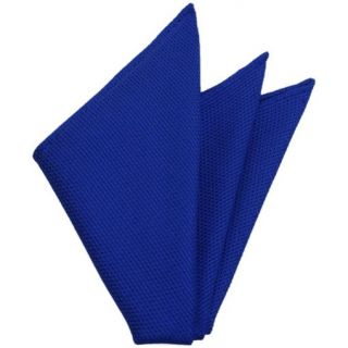Royal Blue Grenadine Fina Silk Pocket Square # 14