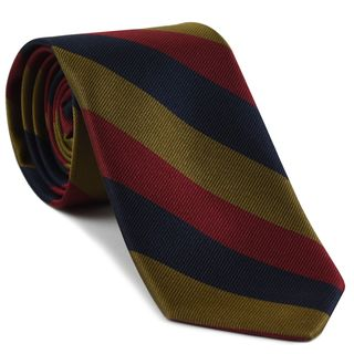 Royal Scots Stripe Silk Tie # 11