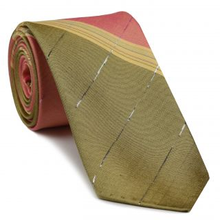 Thai Striped Thai Silk Tie #28