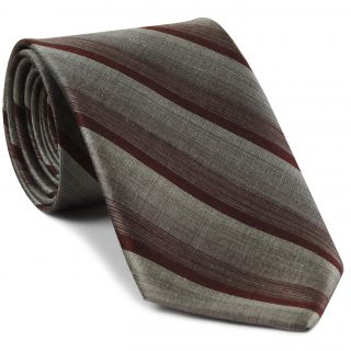 Thai Striped Thai Silk Tie #27