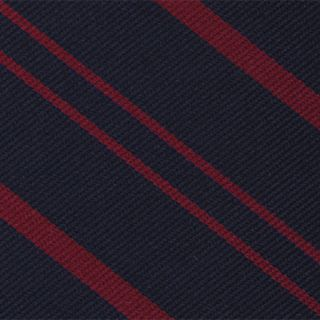 Royal Military Police Stripe Silk Tie # 17
