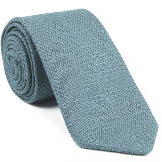 Power Blue Prometeo Grenadine Silk Tie #12