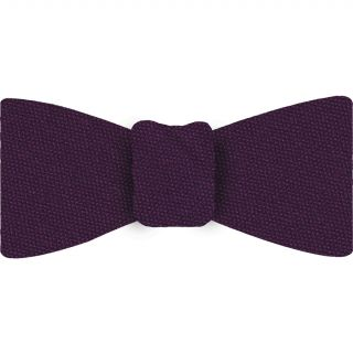 Purple Mulberrywood Weave Silk Bow Tie #MWBT-2
