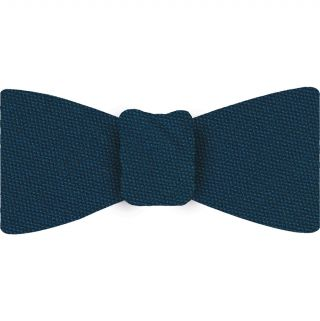 Steel Blue Mulberrywood Weave Silk Bow Tie #MWBT-3