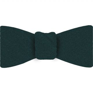 Dark Green Turquoise Mulberrywood Weave Silk Bow Tie #MWBT-6