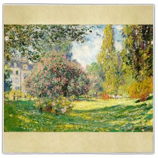 Claude Monet Pocket Square #11A