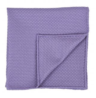 Lavender Grenadine Grossa Silk Pocket Square #32