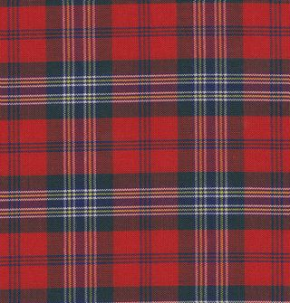 Mc Lean Tartan Cotton Pocket Square #TACP-1