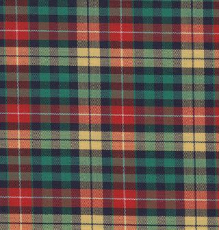 Buchanan Tartan Cotton Pocket Square #TACP-4