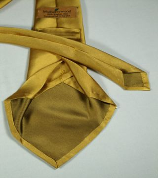 7-fold Unlined Tie Construction