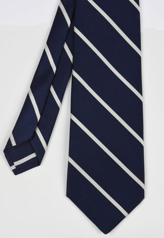 Trinity College Oxford Stripe Silk Tie # 13