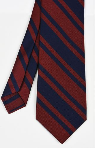 Royal Engineers Stripe Silk Tie #2