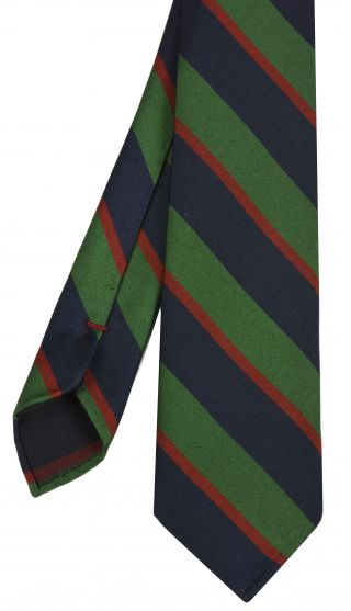 Royal Army Dental Corps Stripe Silk Tie # 29