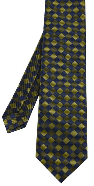 English Geometric Silk Tie #12