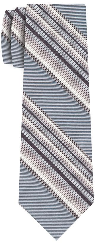 Formal/Wedding Silk Stripe Tie #7