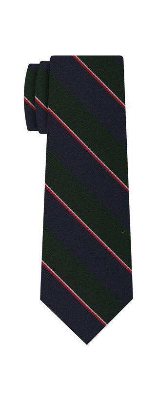 9th Argyle and Sutherland Highlanders Silk Tie #48D