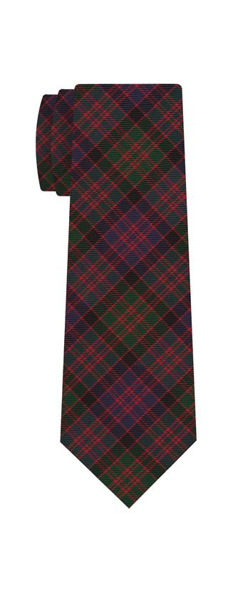 MacDonald of Clanranald Tartan Silk Tie #TAT-11