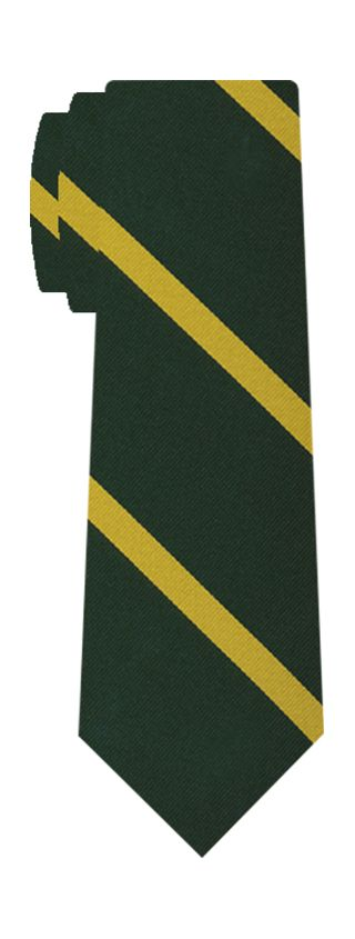 1st Battlion Connaught Rangers Stripe Silk Tie # 46