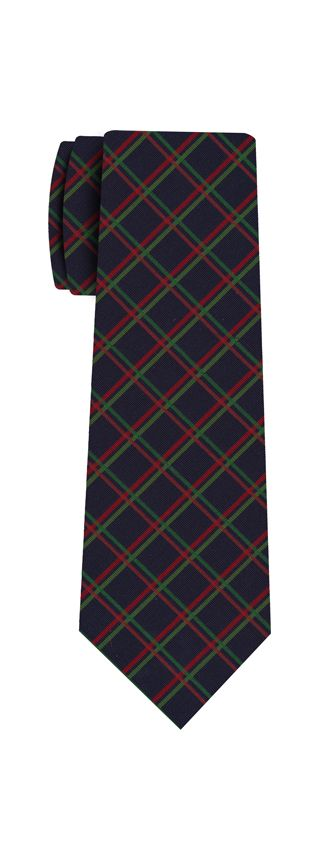 Atkinsons Plaid Irish Poplin Tie #3