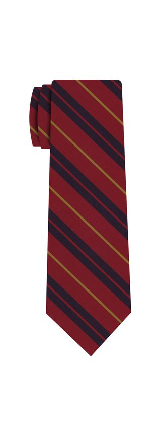Atkinsons Stripe Irish Poplin Tie #51