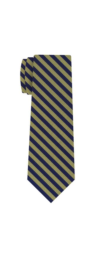Lincolns Inn Striped Silk Tie #UKL-4