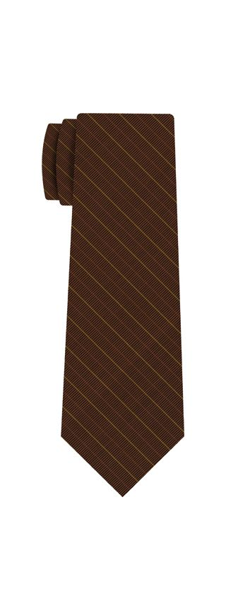 Atkinsons Stripe Irish Poplin Tie #54