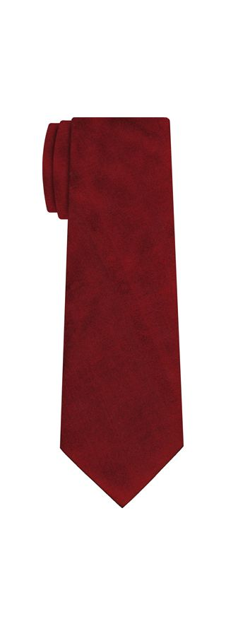 Dark Red Shot Thai Silk Tie #6