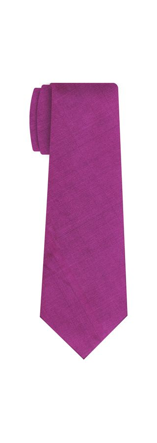 Dark Pink Shot Thai Silk Tie #2
