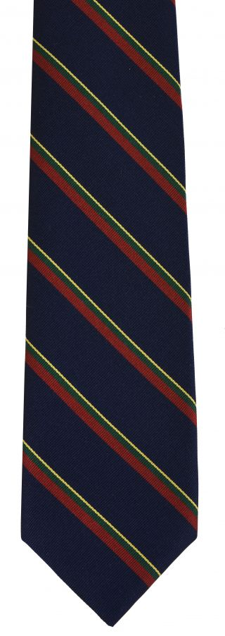 Royal Marines Stripe Silk Tie # 40