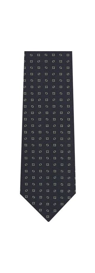 Macclesfield Printed Silk Tie #169