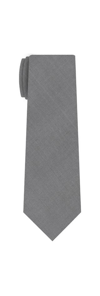 Light Charcoal Thai Shot Silk Tie #66