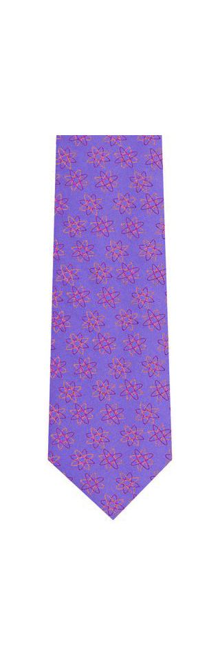 English Geometric Silk Tie #18